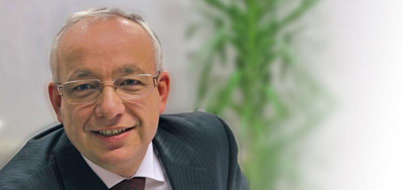 Karl-Heinz Richter, Geschäftsführer für Marketing & Vertrieb bei der Indu-Sol GmbH,