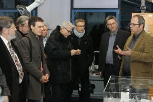2014 waren die Fachpressetage zu Gast bei Fraunhofer ICT