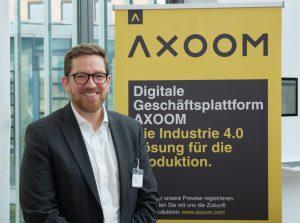 """Bastian Deck, Geschäftsführer AXOOM Solutions GmbH Karlsruhe zu den Fachpressetagen: """"Ich bin sicher nicht zum letzten Mal hier!"""""""