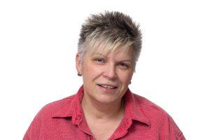 Ingrid Oehlschläger, Bibliothekarin und Hüterin der Rechtschreibung beim RBS.